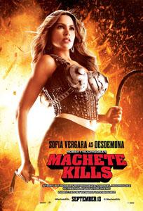 Machete Kills - Sofia Vergara Advance Theatrical Poster Style B - Courtesy of Open Road Films