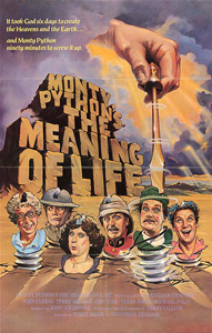 Monty Python's The Meaning of Life - Theatrical Poster - Courtesy of Universal Pictures