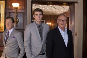 "Paranoia - Gary Oldman, Liam Hemsworth and Harrison Ford star in Relativity Media's ""Paranoia"". ©2012 Paranoia Acquisitions LLC. All rights reserved. Photo Credit: Peter Iovino"