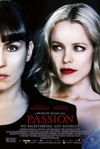 Passion - Theatrical Poster Style B - Courtesy of Entertainment One