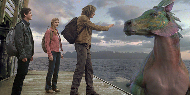 New Clip From Percy Jackson Sea Of Monsters Movie House Memories