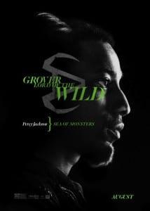 Percy Jackson: Sea of Monster - Brandon T. Jackson Advance Theatrical Poster - Courtesy of 20th Century Fox