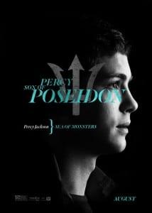 Percy Jackson: Sea of Monster - Logan Lerman Advance Theatrical Poster - Courtesy of 20th Century Fox
