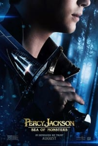 Percy Jackson: Sea of Monsters - Advance Theatrical Poster - Courtesy of 20th Century Fox