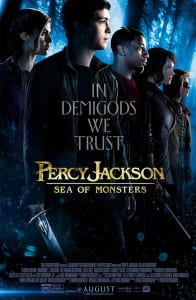 Percy Jackson: Sea of Monsters - Theatrical Poster - Courtesy of 20th Century Fox