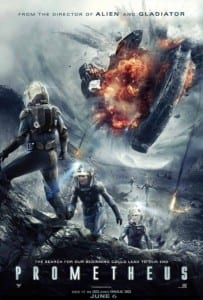 Prometheus - Theatrical Poster Style C - Courtesy of 20th Century Fox