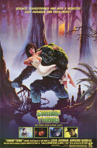 Swamp Thing - Theatrical Poster - Courtesy of Scream Factory