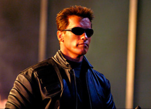 Terminator 3: Rise of the Machines - Arnold Schwarzenegger as the Terminator - Courtesy of Warner Bros. Pictures