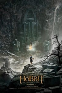 The Hobbit: The Desolation of Smaug - Advance Theatrical Poster - Courtesy of Warner Bros. Pictures
