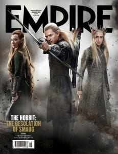 The Hobbit: The Desolation of Smaug - Empire Magazine Clean Cover - Courtesy of Empire Magazine