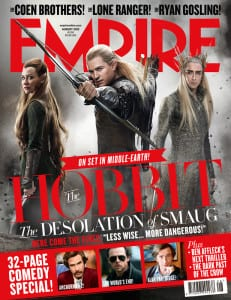 The Hobbit: The Desolation of Smaug - Empire Magazine Cover - Courtesy of Empire Magazine