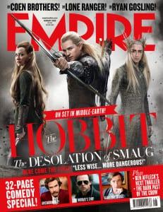 The Hobbit: The Desolation of Smaug - Empire Magazine Cover - Courtesy of Empire Magazine