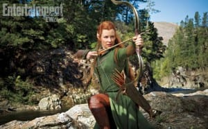The Hobbit: The Desolation of Smaug - Evangeline Lilly Photo - Courtesy of New Line Cinema