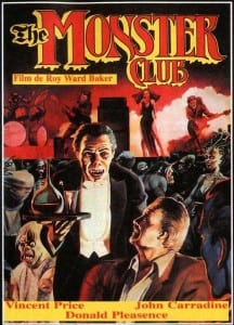 The Monster Club - Foreign Theatrical Poster - Courtesy of Scorpion Releasing