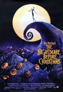 The Nightmare Before Christmas - Theatrical Poster - Courtesy of Walt Disney Pictures
