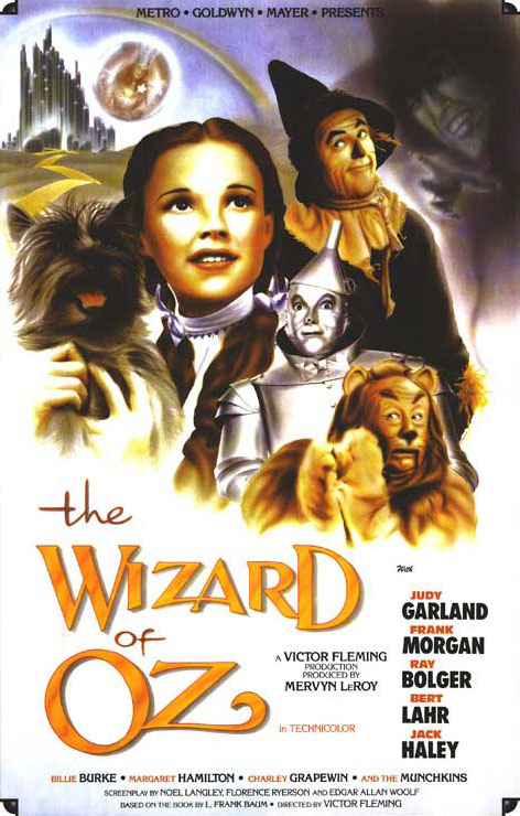 The Wizard of Oz - Theatrical Poster - Courtesy of Warner Bros. Pictures