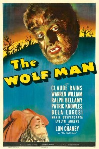 The Wolf Man - Theatrical Poster - Courtesy of Universal Pictures