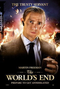 The World's End - Martin Freeman Advance Theatrical Poster - Courtesy of Focus Features