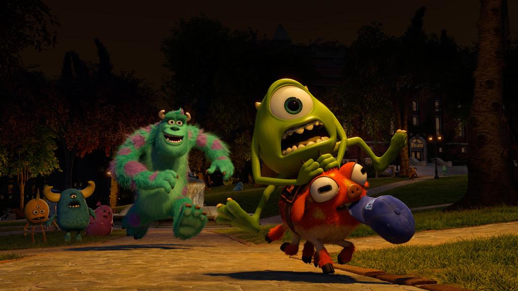 Monsters University Movie Still Courtesy Walt Disney and Pixar