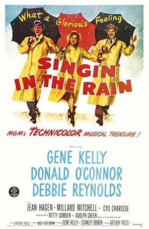 Singin' In The Rain (1952) Podcast Movie Poster