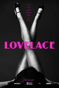 Lovelace - Advance Theatrical Poster Style B - Courtesy of The Weinstein Company
