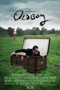 Oldboy (2013) - Theatrical Poster - Courtesy of FilmDistrict