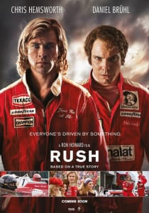 Rush (2013) - International Theatrical Poster Style A - Courtesy of Universal Pictures and Imagine Entertainment