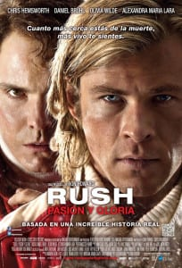 Rush (2013) - International Theatrical Poster Style B - Courtesy of Universal Pictures and Imagine Entertainment