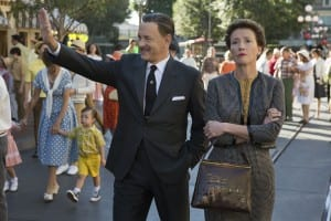 Saving Mr. Banks - Tom Hanks and Emma Thompson in Saving Mr. Banks - Courtesy of Walt Disney Pictures