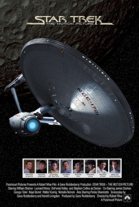 Star Trek: The Motion Picture - Theatrical Poster Style B - Courtesy of Paramount Pictures