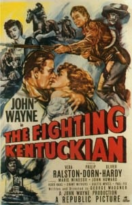 The Fighting Kentuckian - Theatrical Poster - Courtesy of Olive Films