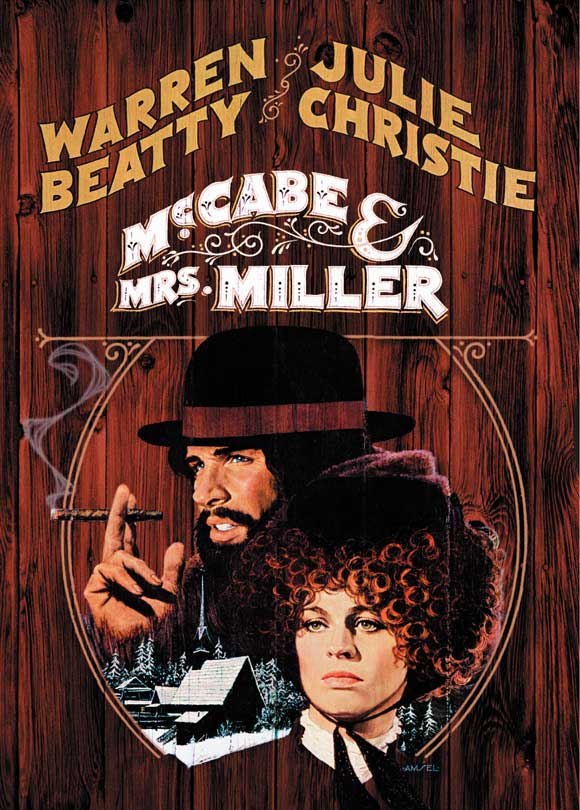 McCabe & Mrs. Miller (1971) Podcast Movie Poster