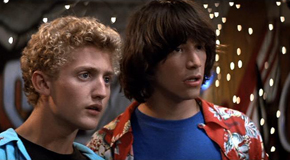 Bill and Ted's Excellent Adventure Movie Still