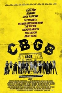 CBGB - Theatrical Poster - Courtesy of XLrator Media