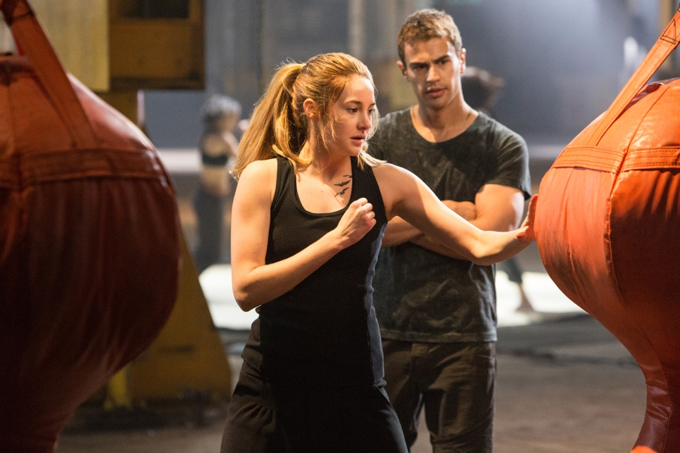 Divergent - Shailene Woodley and Theo James in Divergent - Courtesy of Summit Entertainment