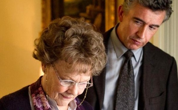 Philomena - Dame Judi Dench and Steve Coogan in Philomena - Courtesy of The Weinstein Company