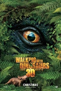 Walking With Dinosaurs: The 3D Movie - Advance Theatrical Poster Style B - Courtesy of 20th Century Fox