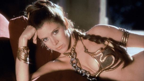 Princess Leia Star Wars Episode VI Return of the Jedi 1983 via Geek News