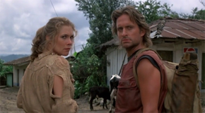 Romancing the Stone Movie Still