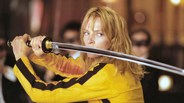 The Bride Kill Bill 2003 via Eddie Rays Movie Reviews