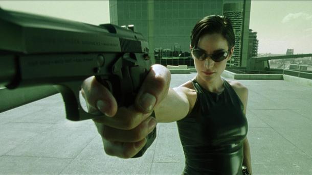 Trinity The Matrix 1999 via Hundland