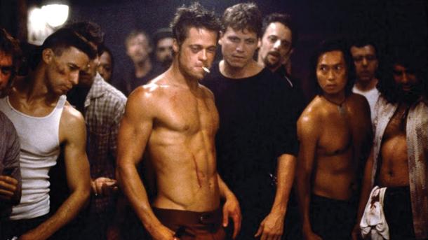 Fight Club 1999 via Movie Memorabilia