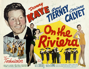 On The Riviera - Theatrical Poster - Courtesy of 20th Century Fox