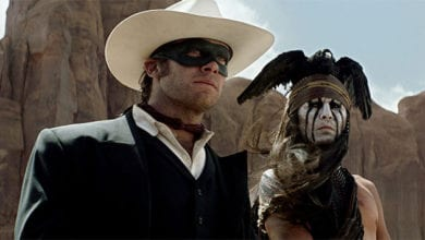 Photo of New Poster and Super Bowl Trailer For The Lone Ranger