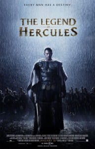The Legend of Hercules one sheet