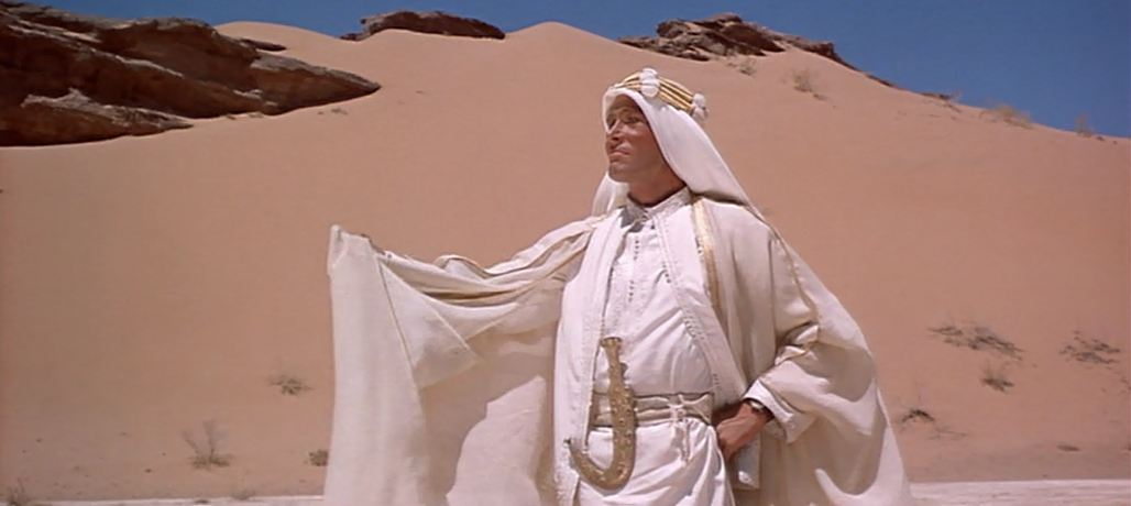 a movie review of lawrence of arabia New york like the desert itself, in which most of the action in lawrence of arabia takes place, this much-heralded film about the famous british soldier-adventurer, which opened last night at.