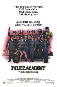 Police Academy 1984 Movie Poster