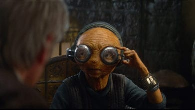 Maz Kanata in Star Wars: Episode VII - The Force Awakens