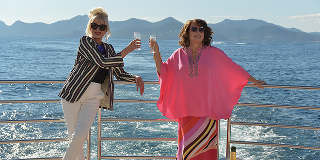 Absolutely Fabulous: The Movie Official HD Trailer #1