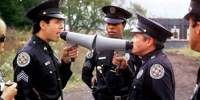 Police Academy (1984) Movie Review on the MHM Podcast Network